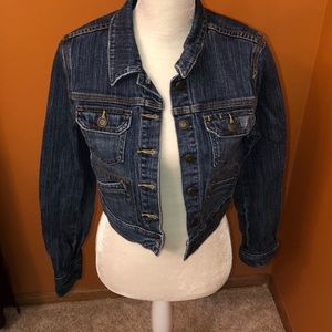 Old Navy cropped jean jacket.